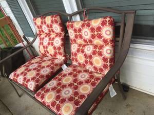 Wrought Iron Bench (chapel Hill)
