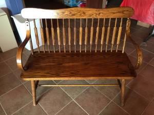 Oak bench (Tama)