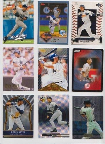 Derek Jeter Baseball Cards / 35 Card Lot - All Different