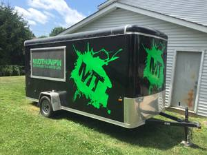 2017 6x14 concession trailer (Zanesville)