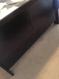 Queen Sleigh Bed Frame (MEMPHIS)