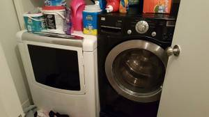 Excellent Condition - Front Loader Washer and Whirlpool Dryer (downtown)
