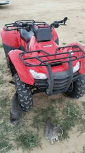 Honda Foreman atv # only 323 miles.Like NEW (central rawlins)