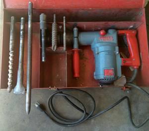 Hilti TE60 Hammer Drill & Bits (Northglenn)