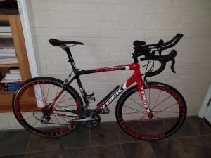 2011 TREK MADONE 5.2 COMPACT H2 CARBON 56cm Road Bike (Decatur)