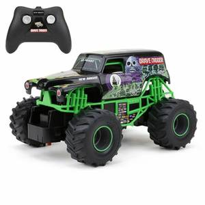 New Bright Monster Jam Grave Digger Rc Truck 1:24 Scale Monster Truck
