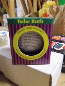 Babe Ruth 100th Anv Baseball, Coin, Cards (South Jersey)