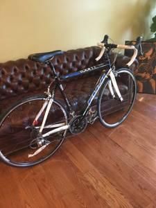 Fuji carbon road bike