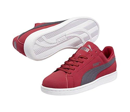 PUMA 356753 Mens Puma Smash Buck Shoes, Rio Red/Periscope - 10.5