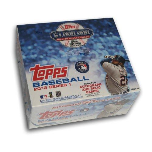 MLB 2013 Topps 1 Retail Baseball Cards (Pack of 24)