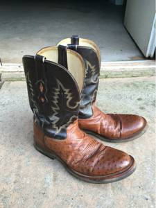Mens cowboy boots (Purcell)