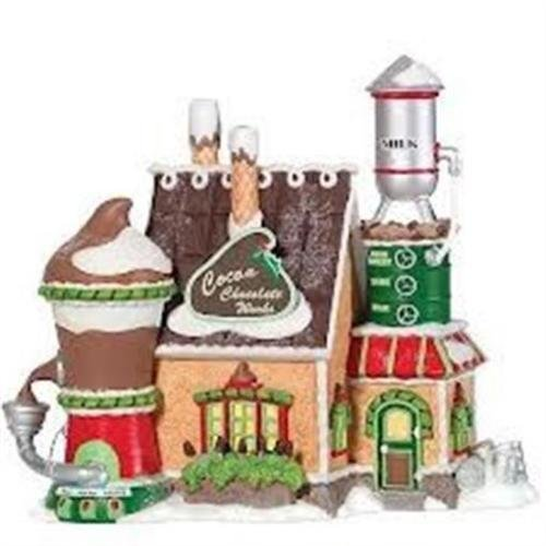 Department 56 North Pole Cocoa Chocolate Works
