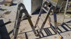 Aluminum Folding Step Ladder
