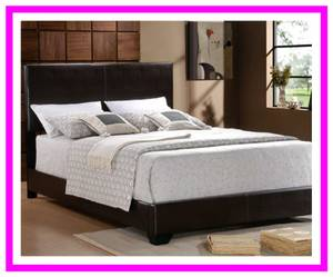 Upholstered Queen Platform Style Bed Frame (Baltimore Furniture)