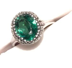 Tsavorite Garnet Ring, Heirloom, $9000 Appraisal (OKC)