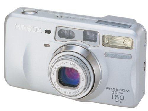 Minolta Freedom Zoom 160 Date 35mm Camera Kit w/bag