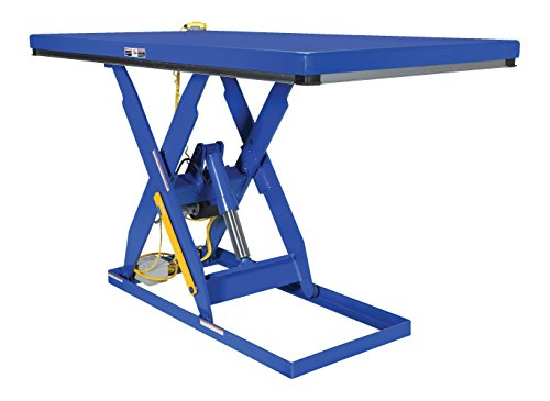 Vestil EHLT-2466-2-55 Electric Hydraulic Lift Table, 2000 lb., 7