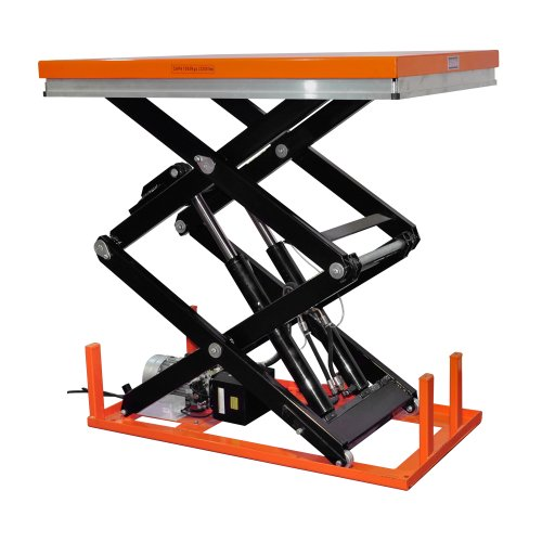 Bolton Tools New Stationary Industrial Electric Powered Hydraulic Lift Table -