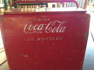 1950's Coca-Cola Chest Cooler Red (Eastvale)