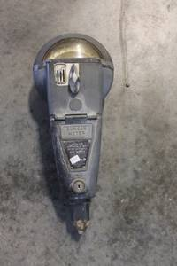 Vintage Parking Meter (Buda)