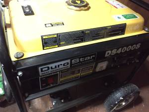 DuroStar DS4000S Generator, Like New Perfect Condition! (Leominster)