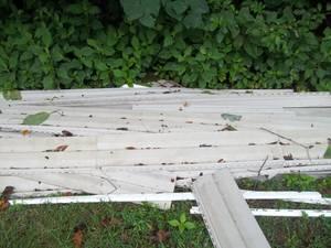 vinyl siding - used - gray in color (Johnson City)