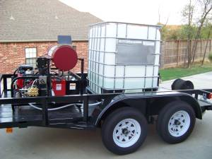 Commerical Pressure Washer Trailer Unit (TULSA)