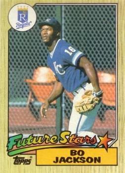 1987 Topps Baseball #170 Bo Jackson Rookie Card