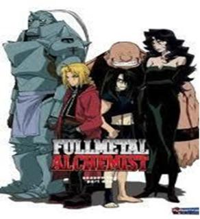 Full Metal Alchemist Complete Series With Disc Artwork and Cases (Free Shipping)