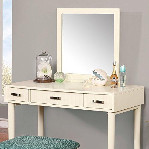 Al Sadat Cream Solid Wood Vanity with Bench