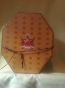 Vintage Men's Knox Hat Box (Kannapolis)