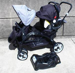 Sit n Stand Stroller with Infant Car Seat - never used (Philadelphia)