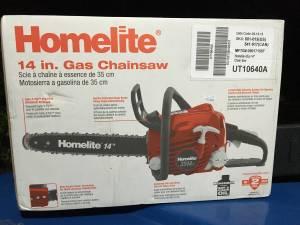 Brand New Homelite *NIB* 14 in. 2 Cycle 42cc Gas Powered Chain Saw