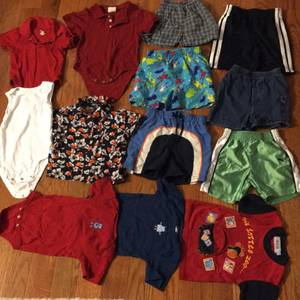 Group of 18m Boys Summer Clothes (Worcester)