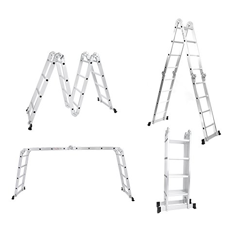 15.5FT Multi Purpose Ladder Telescopic Ladder