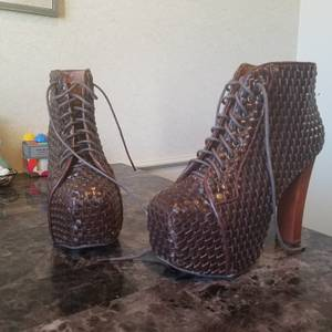 Jeffrey Campbell Ankle Boots size 7.5 & 8
