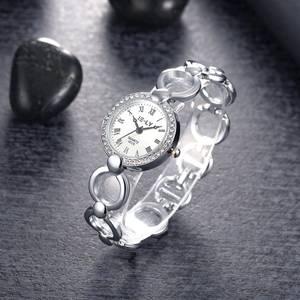 Ring Band Bracelet Rhinestone wrist watch