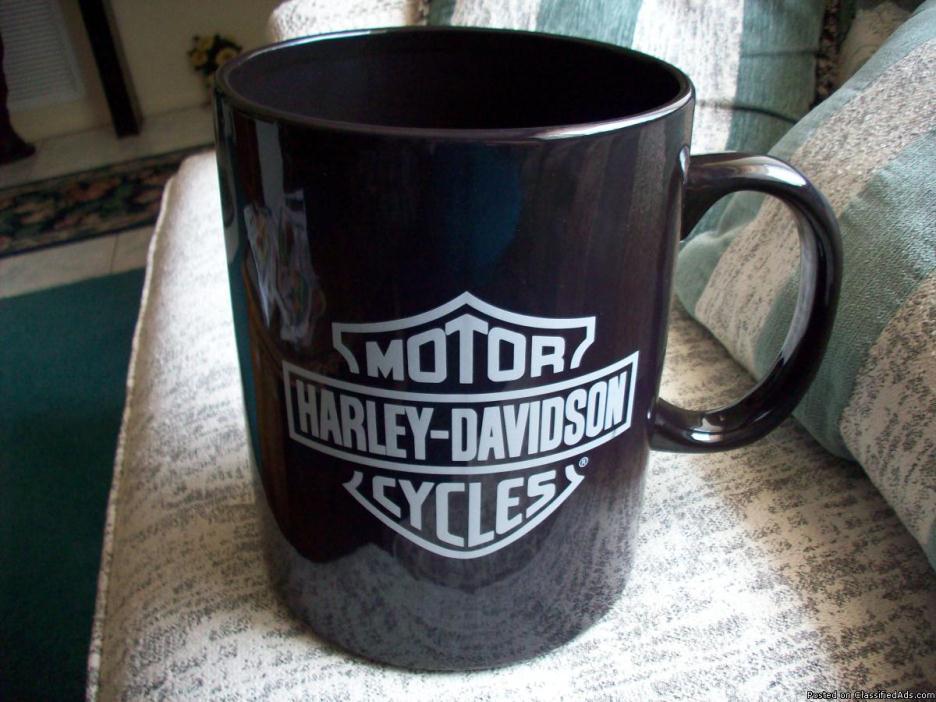 Harley Davidson GIANT COFFEE MUG 1 ft Tall
