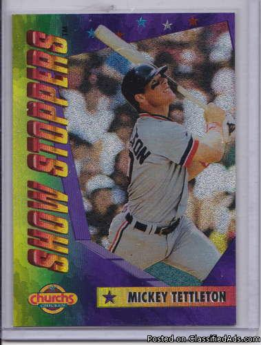 Mickey Tetttleton1994 Church's Show Stoppers 10 of10