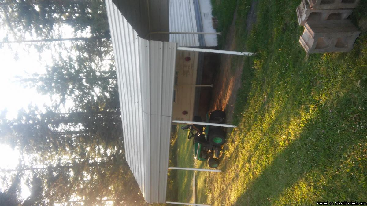 20ft X12ft covered carport
