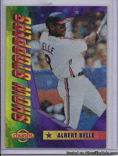 Albert Belle 1994 Church's Show Stoppers 7 of 10