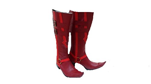 Ao No Blue Exorcist Mephisto Pheles Cosplay Costume Boots Boot Shoes Shoe