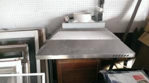 Wolf stainless steel vent fan shroud (Crivitz/Twin Bridge)