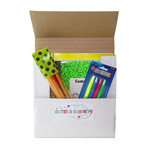 Discount School Supply Kit Includes Graph Paper Spiral Notebook