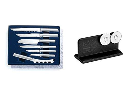 Rada Cutlery The Starter Knife Gift Plus R119 Knife Sharpener