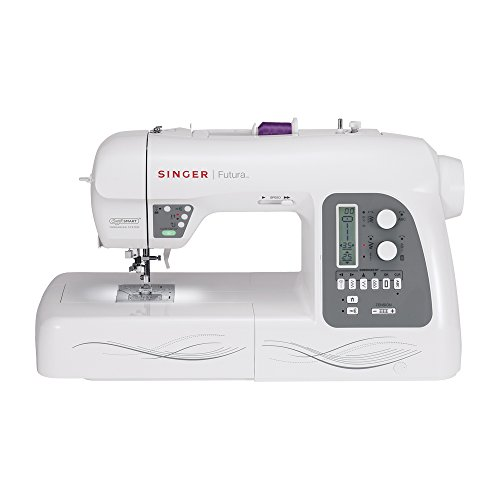 SINGER Futura XL-550 Computerized Sewing and Embroidery Machine with