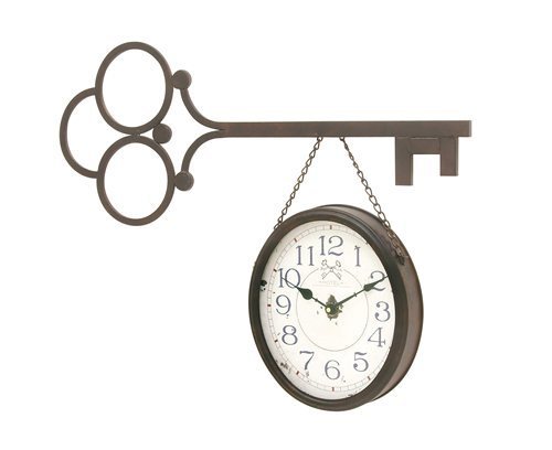 Exceptional Metal Wall Clock