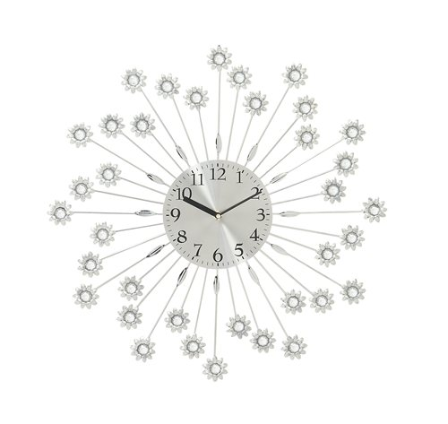 Trendy Metal Acrylic Wall Clock