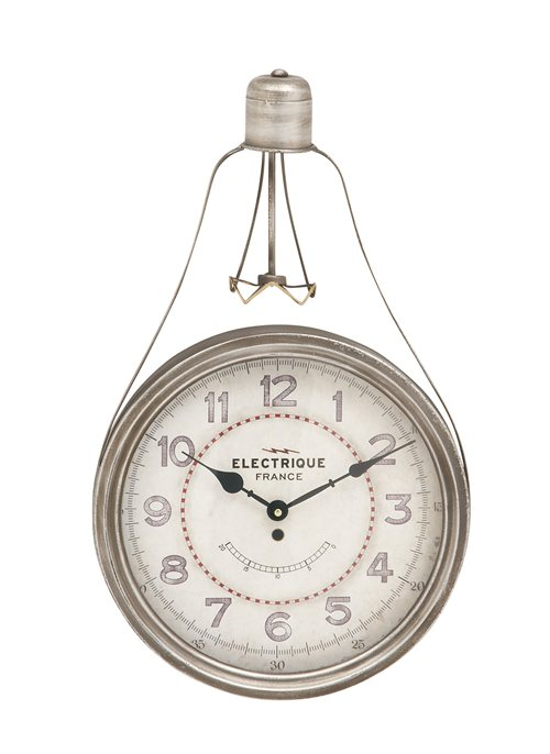 Chic Metal Wall Clock