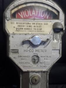 Very Cool Antique Parking Meter